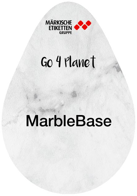 Etikett auf Marmorbasis - marblebase