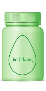 Grüner Tiegel mit nachhaltigem Etikett für besseres Recycling